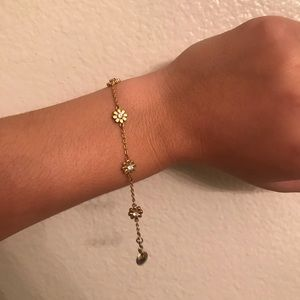 Juicy Couture Yellow Gold Daisy Bracelet